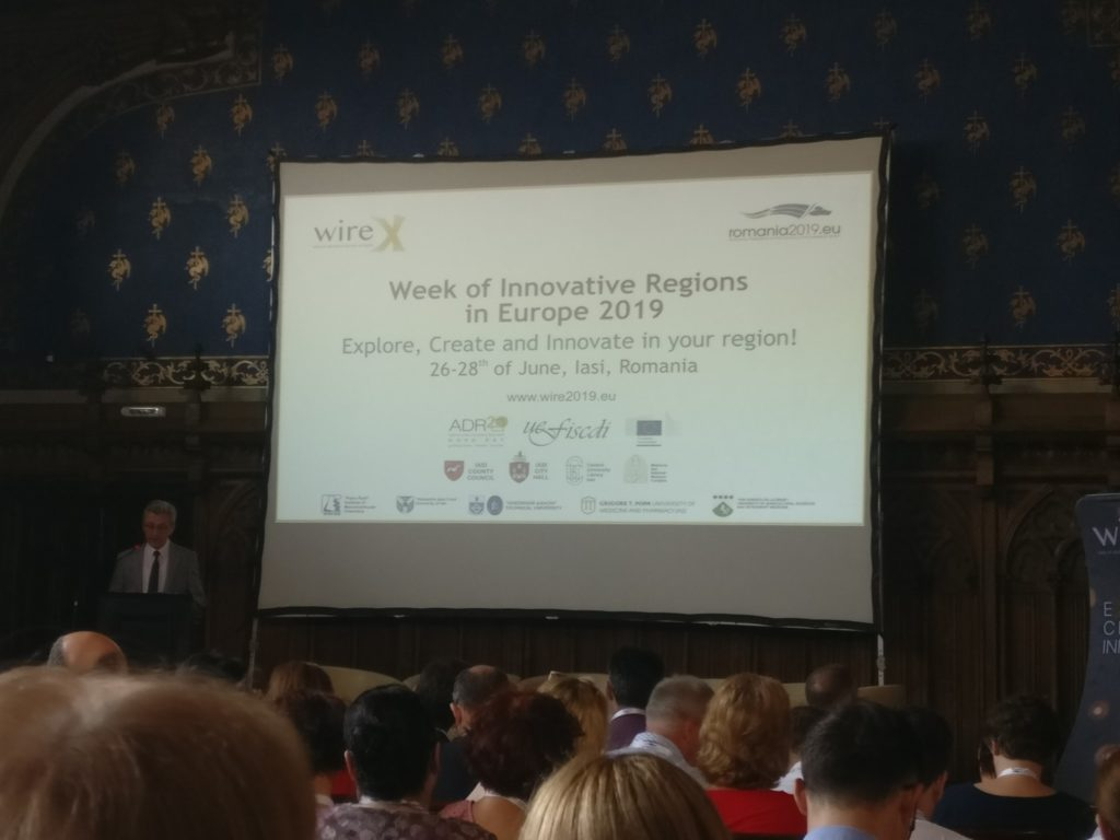 iun 2019 Iasi Conferinta Europeana a Cluaterelor Inovative